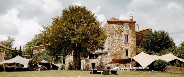 Photo du château de Bois Rigaud à proximité du Cantal