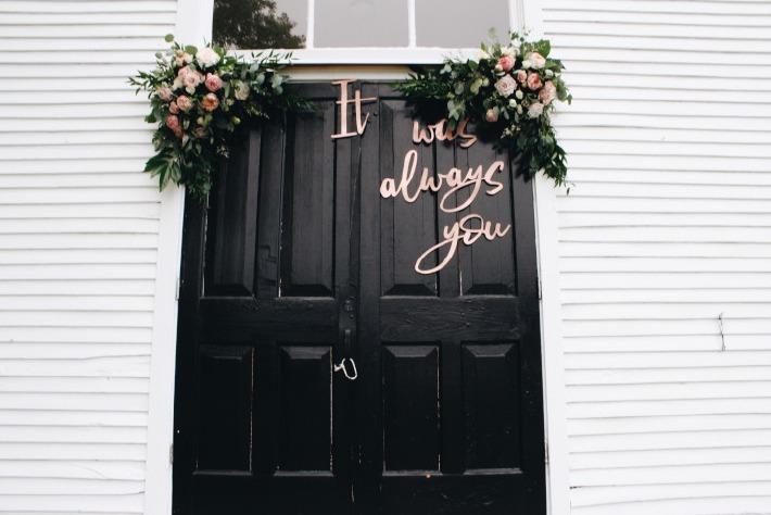 Préparatifs et décoration d'un mariage