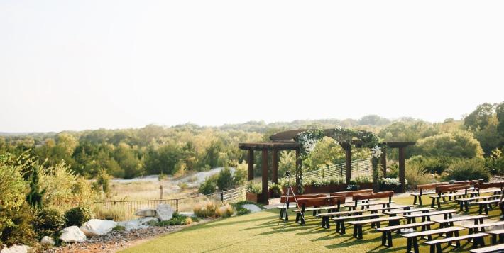 Photo d'un lieu de réception proposant des cérémonies de mariage en France.