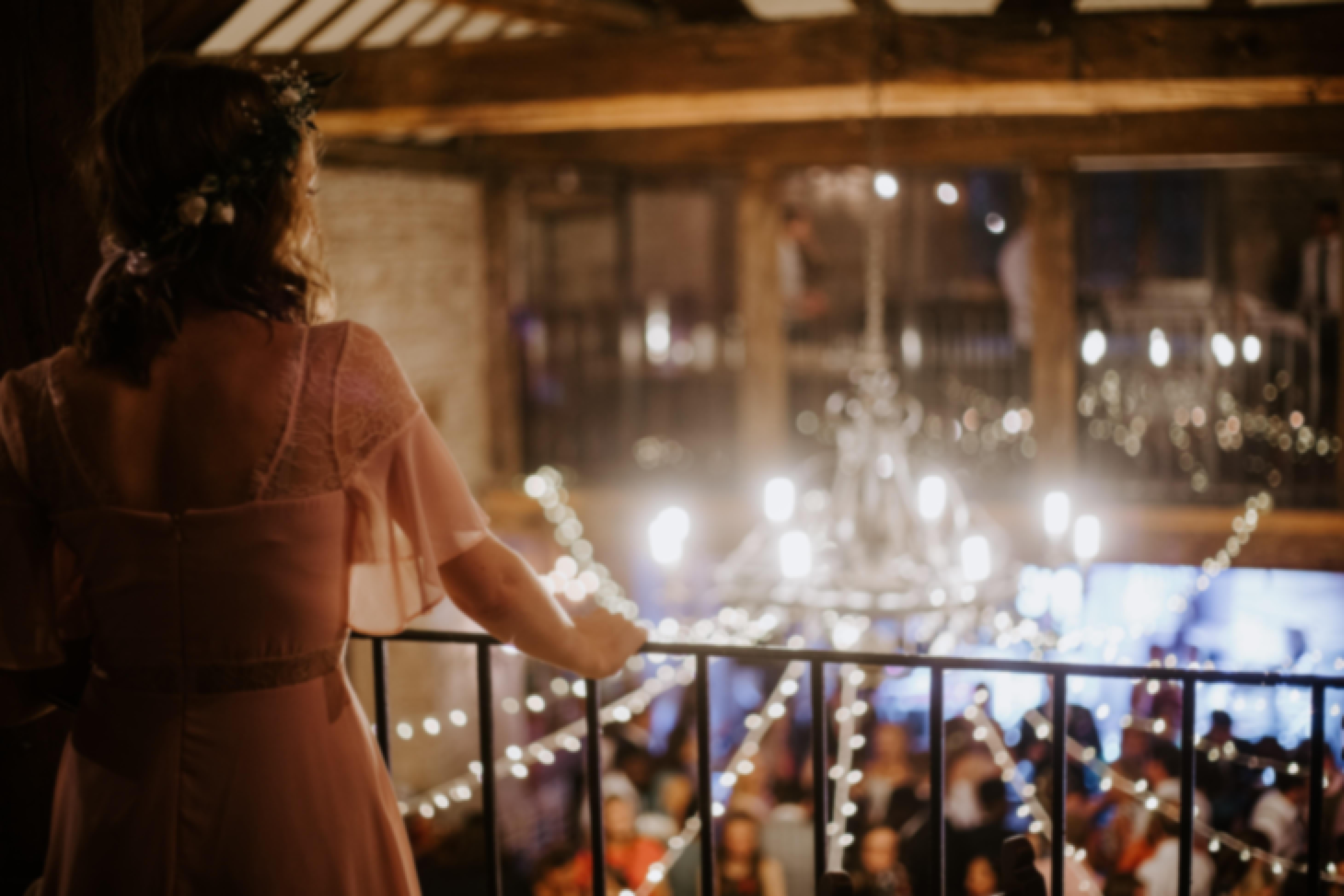 Photo d'une fête de mariage dans un château en France