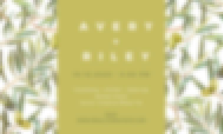 Modèle de faire-part en ligne proposé par Canva totalement gratuit.