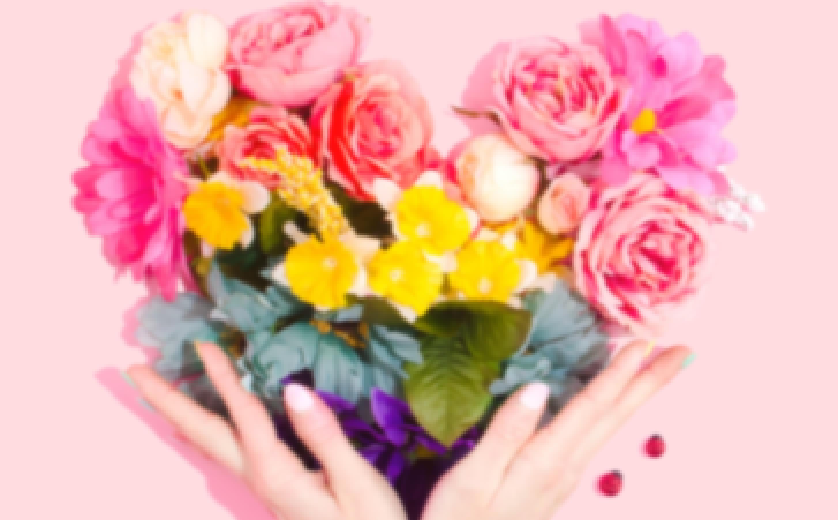 Bouquet de mariage préparé par un fleuriste près de Clermont-Ferrand