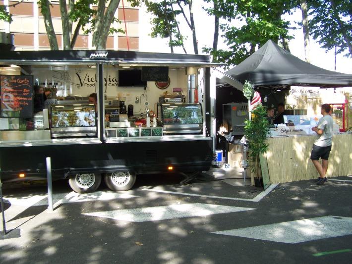 Photo du Food truck Victoria près de Riom et Clermont-Ferrand pour un mariage