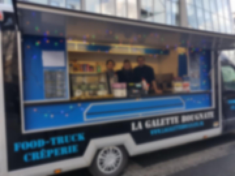 Photo d'un food truck privatisé près de Clermont-Ferrand pour un mariage