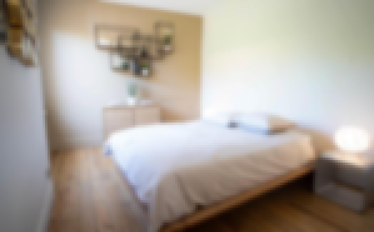 Photo d'une chambre double du château de Bois Rigaud dans le Puy-de-Dôme
