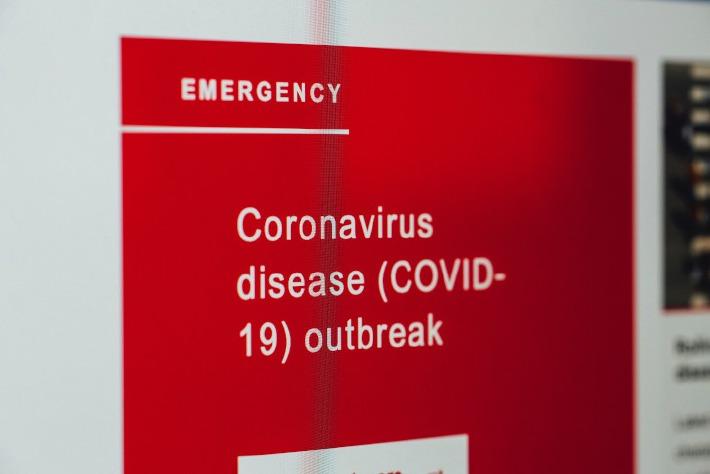 Photo d'une unité de traitement du coronavirus