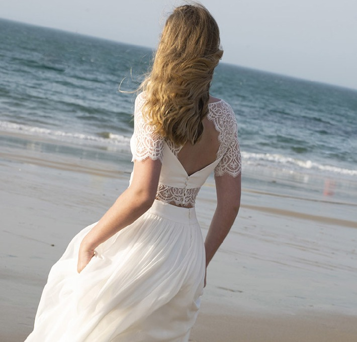 Modèle de robe de mariée Granville chez Lambert Créations