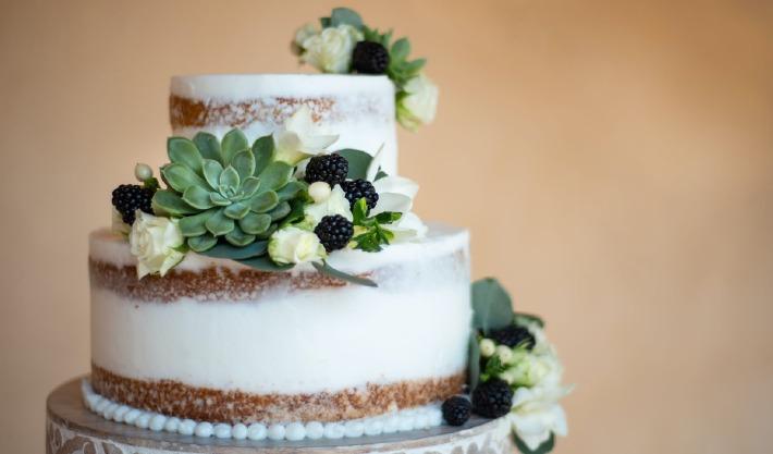 Photo d'un wedding cake préparé pour un mariage dans le Puy-de-Dôme à Clermont-Ferrand