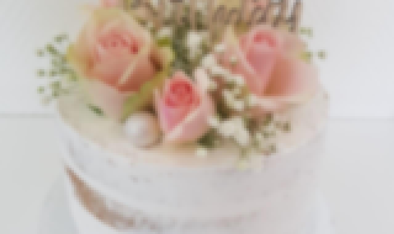 Photo d'un wedding cake préparé pour un mariage dans le Puy-de-Dôme à Clermont-Ferrand par Leatitia Magic Cake