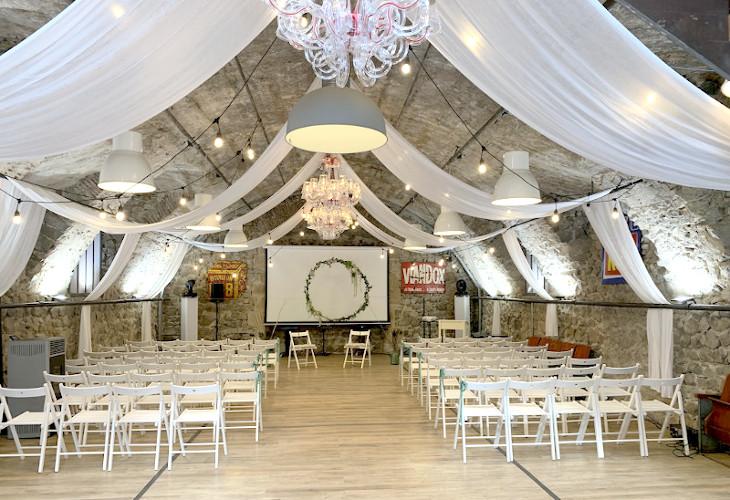 Salle de mariage du Château de Boisrigaud dans le Puy-de-Dôme