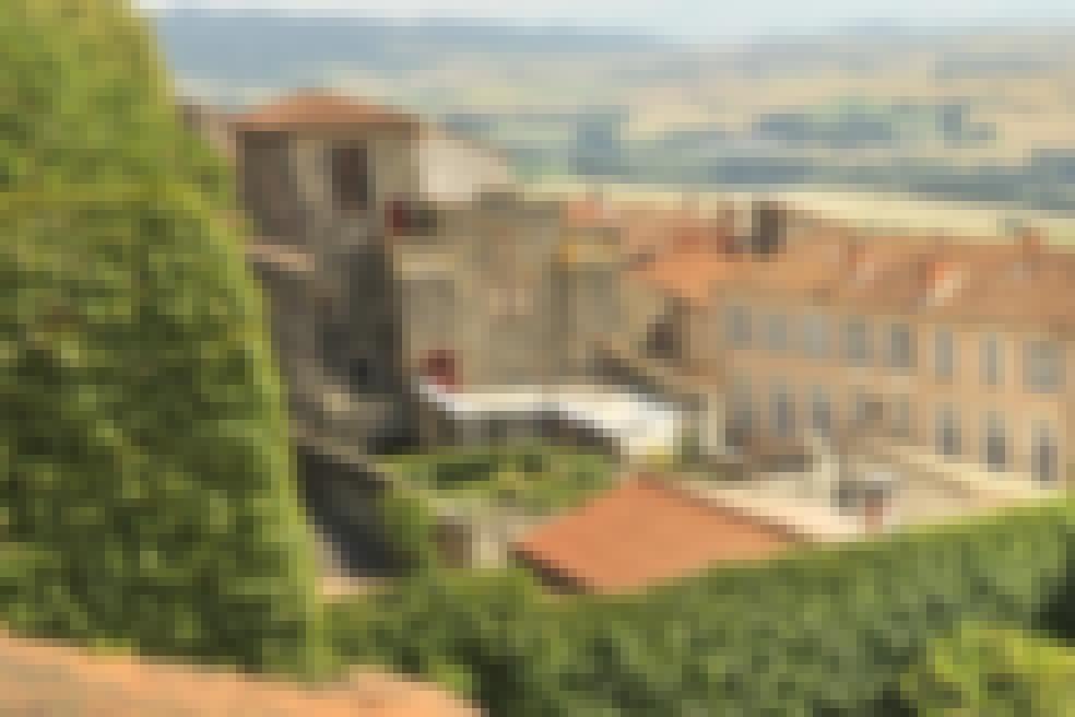 Photo du village d'Usson dans le Puy-de-Dôme