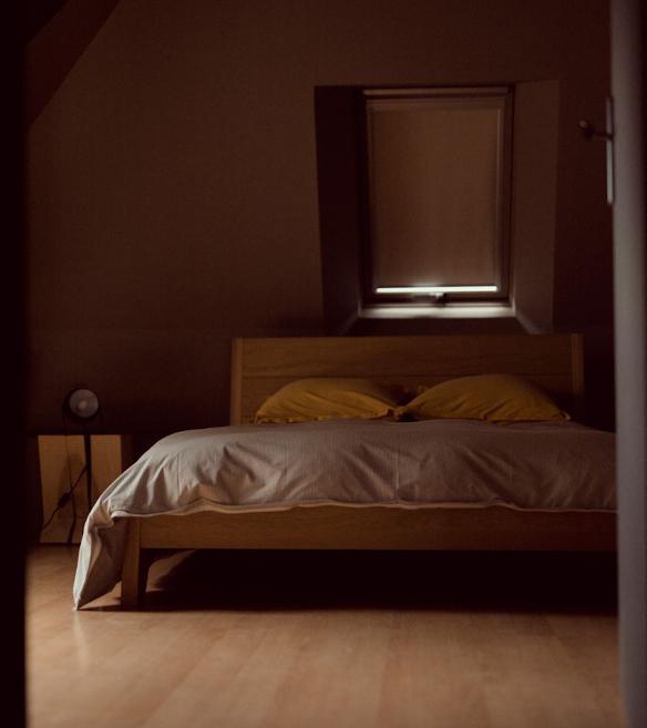 Photo d'une belle chambre double prise au domaine de Bois Rigaud près d'Issoire en Auvergne.